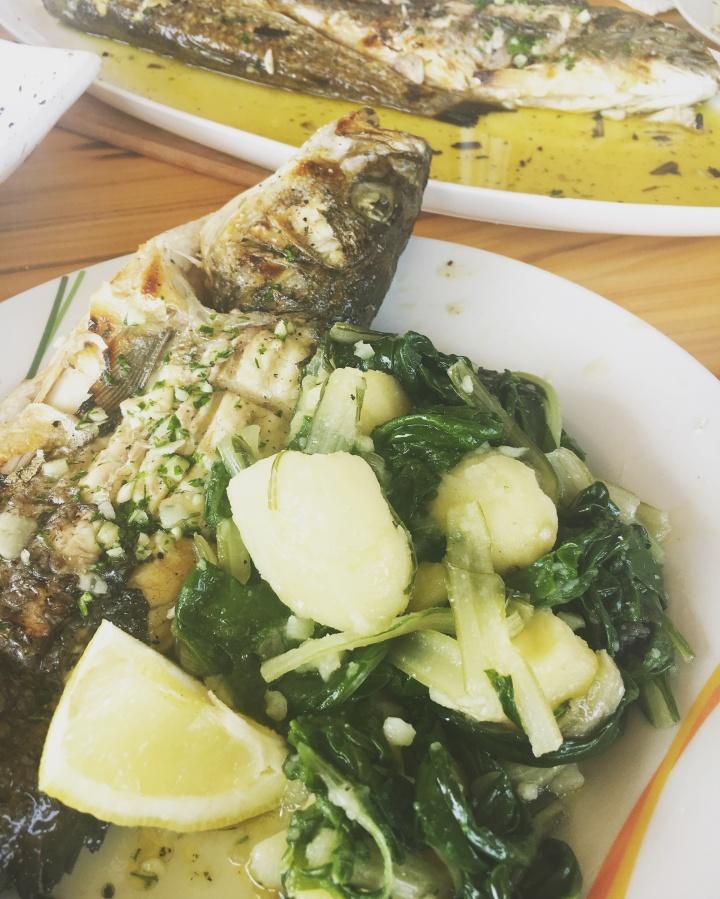 Blitva {Spinach &Potato}