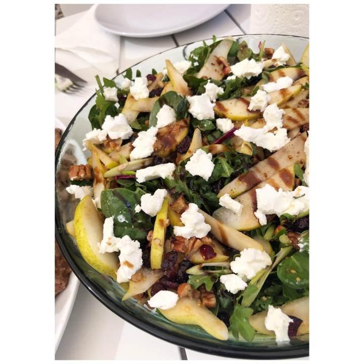 Crunchy Autumn salad
